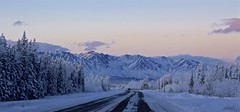 Winter Morning (Katy on the Tundra) Tags: cathedral cathedralmountains mountains winter alaska beltofvenus alaskahwy sundaylights