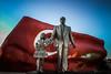 Kızlara ses ver (Melissa Maples) Tags: antalya turkey türkiye asia 土耳其 apple iphone iphone6 cameraphone turkishflag flag art sculpture statue blue red girl atatürk