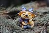 Shaman who loves to sleep (horoshka) Tags: shaman doll artdoll arttoy art handmade fantastic sleepy cute cozy polymerclay cernit creation whimsical