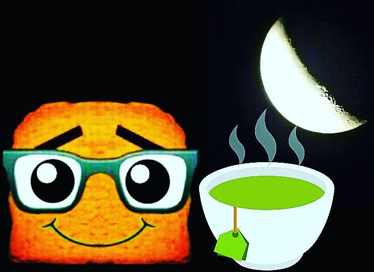 Tee bei abnehmenden Mond