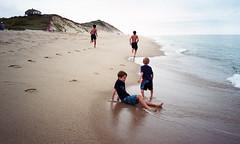 Ballston Beach (neilsonabeel) Tags: nikonactiontouch nikon film analogue beach capecod newengland