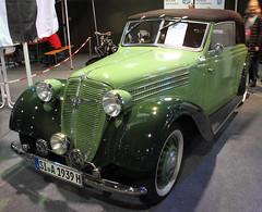 Adler Cabrio (Schwanzus_Longus) Tags: bremen classic motorshow german germany old vintage car vehicle adler 2 liter litre karmann cabrio cabriolet convertible