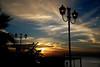 Aspettando la sera (gianclaudio.curia) Tags: tramonto mare luci lampioni controluce nuvole sera nikon digitale nikond601 nikond610 sigma24105 sigma innamoramento