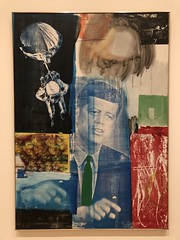 Retroactive 1, 1963, oil & silkscreen ink on canvas (Igor Clark) Tags: sanfrancisco california sfmoma robertrauschenberg rauschenberg