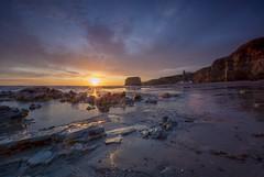 Sunrise over marsden beach (Mark240590) Tags: longexpo cliffs coast seaside beach sunrise sun