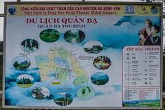 Infotabule v Quan Ba (zcesty) Tags: vietnam23 mapa infocedule vietnam dosvěta hàgiang vn