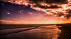 Peach Beach (iratebadger) Tags: nikon nikond7100 d7100 dark lightroom light beach shore shoreline coast yorkshire colours clouds outside water sea seaside northsea northyorkshirecoast sunlight sunbeams waves blue pink iratebadger