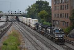 NS 231 8/29/15 (tjtrainz) Tags: ns norfolk southern 231 intermodal train atl ga georgia division atlanta south district 944cw c449w ge general electric