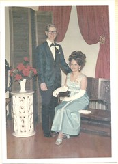 """""""Junior Senior Prom 1968-69. We ate at the Space Needle."""" (912greens) Tags: teenagers prom schools dances formals portraits 1960s folksidontknow"""