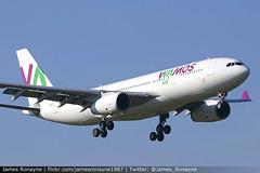EC-MNY   Airbus A330-243   Wamos Air (james.ronayne) Tags: ecmny airbus a330243 wamos air aeroplane plane airplane aviation jet jetliner airliner london gatwick lgw egkk canon 80d 100400mm raw