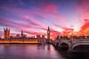 Royal Sunset (IRRphotography) Tags: bigben parliament westminster london uk england unitedkingdom clouds sky thames thamesriver victoriatower