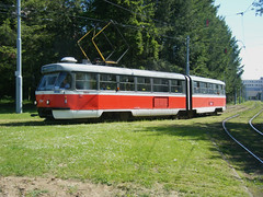 Brno tram No. 1054 (johnzebedee) Tags: tram transport publictransport vehicle brno czechrepublic johnzebedee