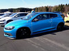 VW Scirocco (911gt2rs) Tags: treffen meeting show event tuning tief low stance typ13 coupe 3 blau blue airride fahrwerk airlift custom