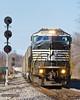 Triple Crown - Ferguson (tim_1522) Tags: railroad railfanning rail missouri mo norfolksouthern ns roadrailer triplecrown stlouisdistrict emd sd60i intermodal searchlight signals