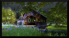 Dimrill Dale (♥ Second Life) Tags: second life destinations dimrill dale calas galadhon gardens forest nature countryside waterways salt marsh woods photography photogenic bloggers