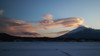 Cold Lenticulars (jasohill) Tags: 2018 color winter tohoku nature city iwate snow hachimantai pink photography life lenticular landscape clouds cold japan mountain