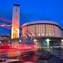 CopieDSC_4670 - (pascalkerdraon) Tags: france bretagne bittany finistere brest ville gare nuit