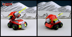 Astro McQuasar (TFDesigns!) Tags: lego space rover face cars disney pixar movie satire moon