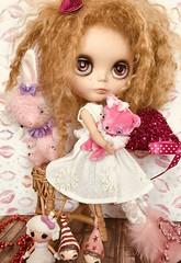 Huggable Hudson and friends.... (A Little Fairy Magic/Leezapea1) Tags: violetpi blytheinwonderlandcustom hop poppytreelane