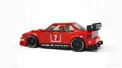 Alfa Romeo 155 DTM (PleaseYesPlease) Tags: moc speedchampions lego alfa alfaromeo 155 dtm touringcar leeschulz