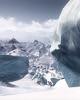 Ice Field (never047) Tags: steep snowboard winter snow