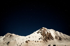 Space Mountain (nic_r) Tags: mountains alps lesarcs lesarcs2000 night stars longexposure nikon d500