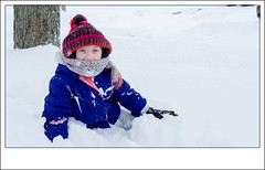 Stella In The Snow (RH Francis) Tags: snow winter child