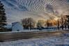 February Afternoon Sky (kendoman26) Tags: hdr nikhdrefexpro2 niksoftware nikon nikond7100 tokinaatx1228prodx tokina tokina1228 morrisillinois sky mackerelsky altocumulus