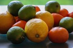 Citrus Colours (A Costigan) Tags: citrus lemon lime orange food fruit colour citruspassion indoor