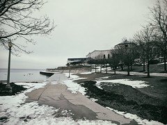 Clear (ancientlives) Tags: chicago illinois il usa travel trips museumcampus sheddaquarium path walking lake lakemichigan lakefronttrail lakeshore saturday february 2018 winter