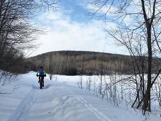 Fat biking at Oka Trails - Day 2