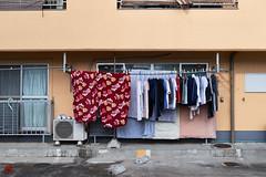 Laundry Overload (gullevek) Tags: building fujixt1 fujifilm fujinonxf35mmf2rwr japan laundry otaku things tokyo tokyoto window yaguchi 大田区 建物 日本 東京 東京都 洗濯 洗濯物 物 矢口 窓 ōtaku tōkyōto jp
