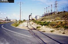 3235 South Fremantle Powerhouse 23 July 1982 (RailWA) Tags: railwa philmelling westrail 1982 south fremantle powerhouse