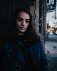 Alexandra Rey in Red Hook Brooklyn (MichaelTapp) Tags: alexandra rey red hook brooklyn