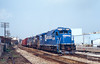 Waiting for a New Crew (jwjordak) Tags: b237r freightcar linepole cr widevision local caboose factory 2039 conrail train warren ohio unitedstates us