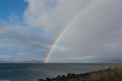 Rare sun break over Sound (wacamerabuff) Tags: cloud pugetsound rainbow