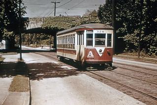 Westchester County - Third Avenue Railway System 326 Sanford Blvd & Hutchinson River Pkwy-Mt Vernon 6-1946 (116364)