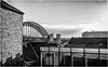 Newcastle . (wayman2011) Tags: f2 fujifilmxf23mm lightroomfujifilmxpro1 wayman2011 bwlandscapes mono townscapes city architecture bridges tynewear tyneside newcastle uk