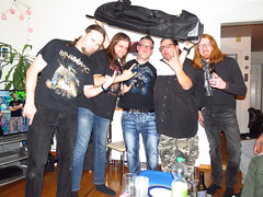 My freaky B-Day! (evil king) Tags: emerald epic evil evilking rock tollmais unhugo party poser alcohol spass doof devilhorns drunk fun freaks freakshow freaky heavy heavymetal hardrock chillers bern berne beer metal metalshirt music