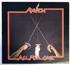 A0479 RAVEN All for One (vinylmeister) Tags: vinylrecords albumcoverphotos gramophone lp heavymetal thrashmetal deathmetal blackmetal vinyl schallplatte disque album