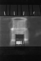 Window onto winter (RoryO'Bryen) Tags: roryobryen copyrightroryobryen rangefinder cambridge blackandwhite noiretblanc blancoynegro kodaktrix selfdeveloped standdeveloped iso400 leicamp 50mm analogue