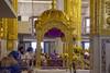 Golden canopy (Tim Brown's Pictures) Tags: india newdelhi sikhtemple gurudwarabanglasahib sikh religion temple food kitchen langar guruwara community pond holy 24karatgold goldleaf