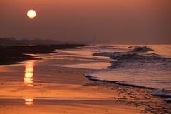 Another walk in De Haan (Drummerdelight) Tags: sunset beach seaside dehaan sunlight