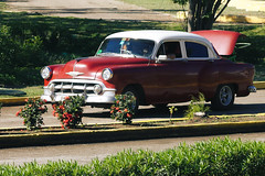 IMG_0242 (giltay) Tags: classiccar varadero cuba car taxi 1953 chevrolet onefifty 150