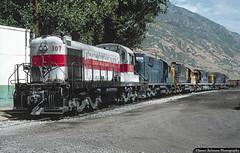 Five Good Reasons to Smile (jamesbelmont) Tags: utahrailway provo utah alco railway rsd5 rsd12 rsd15