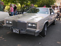 1985 Cadillac Eldorado (C736 MWE) (Ray's Photo Collection) Tags: middlewich cadillac c736mwe eldorado 1985 transport festival car show cheshire