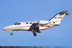 OE-FHK   Cessna 510 Citation Mustang   GlobeAir (james.ronayne) Tags: oefhk cessna 510 citation mustang globeair c510 biz bizjet private vip executive corporate corpjet execjet