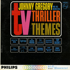 TV Thriller Themes (Jim Ed Blanchard) Tags: soundtrack movie film lp album record vintage cover sleeve jacket vinyl tv television thriller themes johnny gregory route 66 msquad ghost squad staccato perry mason 77 sunset strip avengers