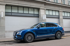 Mansory Bentayga (Nico K. Photography) Tags: bentley mansory bentayga rare blue carbon suv luxury supercars nicokphotography switzerland zürich