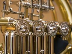 Blasinstrument Detail (bayernphoto) Tags: blasinstrument woodwind instrument gold silber silver horn tuba klappen ventile klassik jazz detail metall blech sound federn